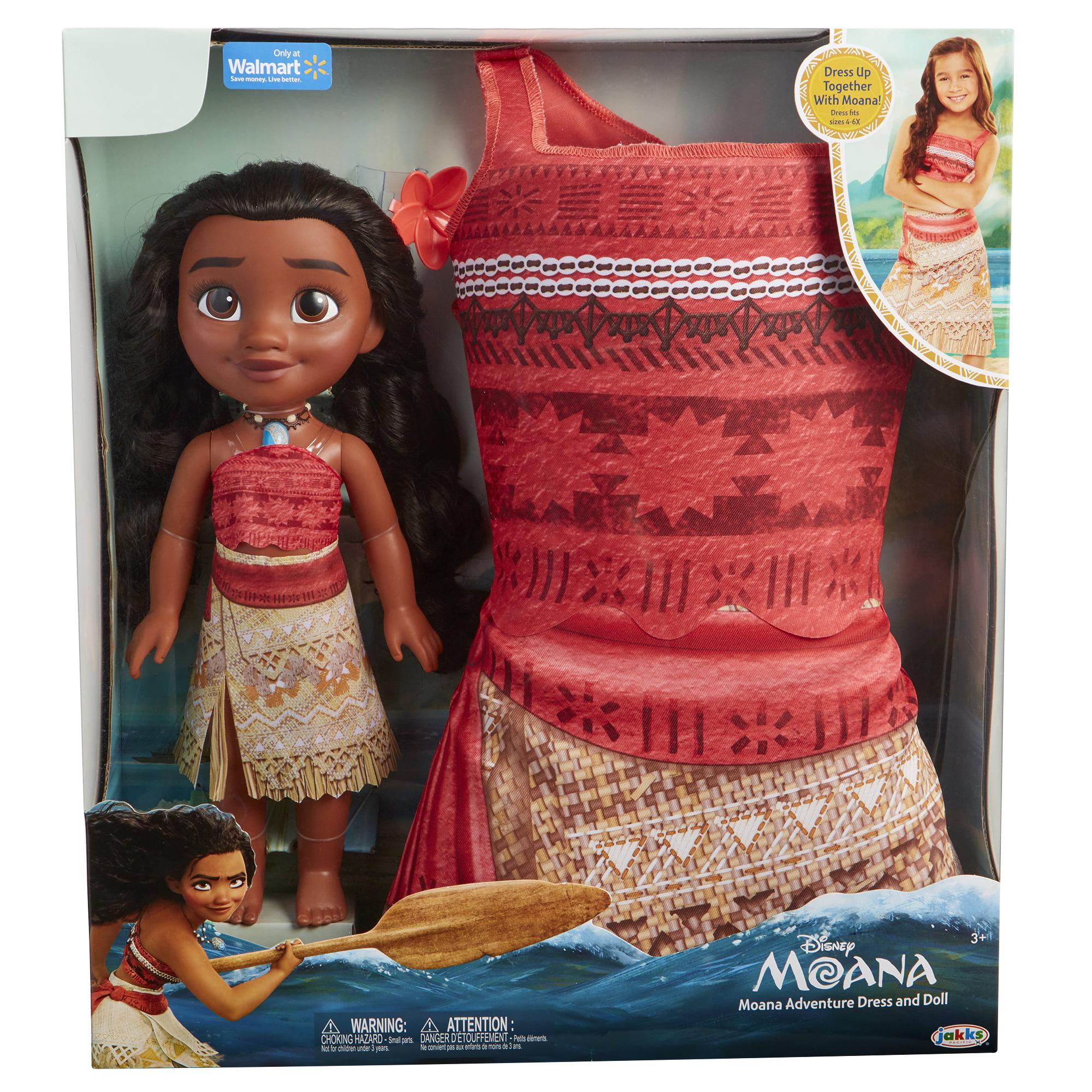 Disney Princess Moana Toddler Doll And Dress   Walmart.com
