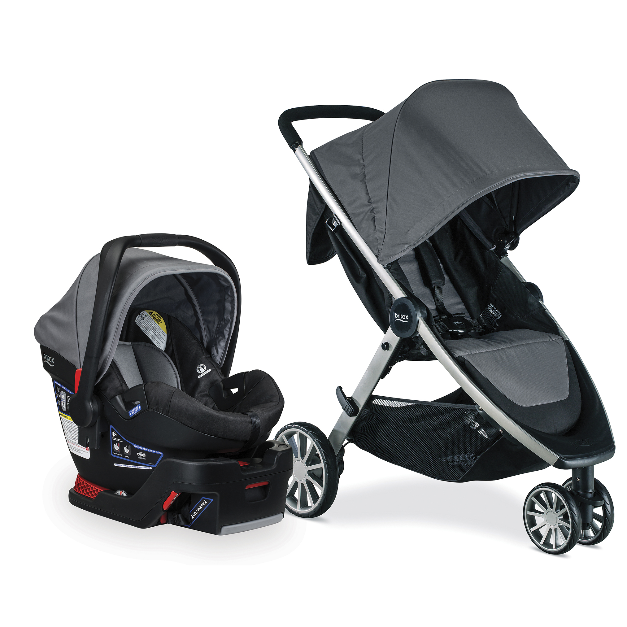 Britax B-Lively & B-Safe 35 Travel System, Dove by Britax