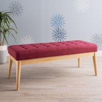 Saxon Fabric Indoor Bench