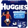 HUGGIES Overnite Diapers Size 5 Giga Jr, 58 ct