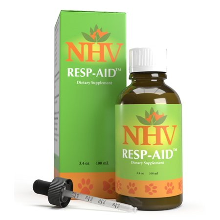 Resp-aid - Natural Support for Respiratory Disorders, Kennel Cough and Bronchial Infections in dogs, cats and small