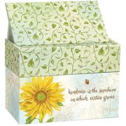 Lang Recipe Card Box with Recipe Cards, Virtue Grows
