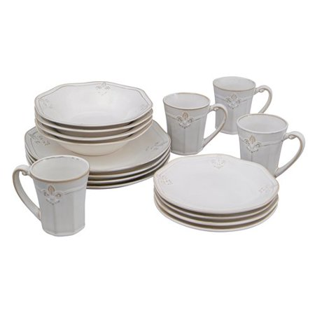 Better Homes And Gardens Country Crest 16pc Dinnerware Set