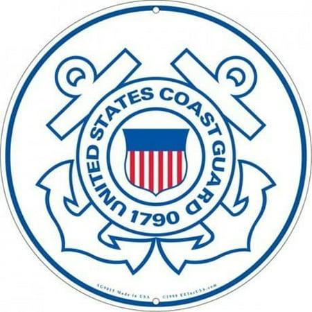Rush Industries Inc. US Coast Guard Logo Aluminum Sign