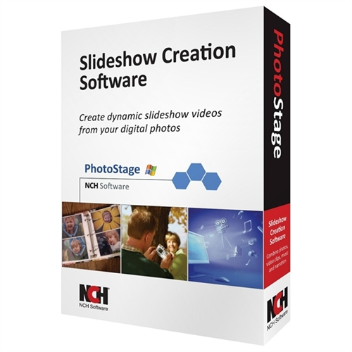 NCH SOFTWARE                        RET-PSW001           PHOTOSTAGE SLIDESHOW CREATOR