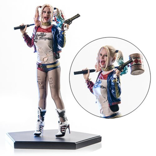 Harley Quinn Suicide Squad Iron Studios 1 10 Scale Statue by