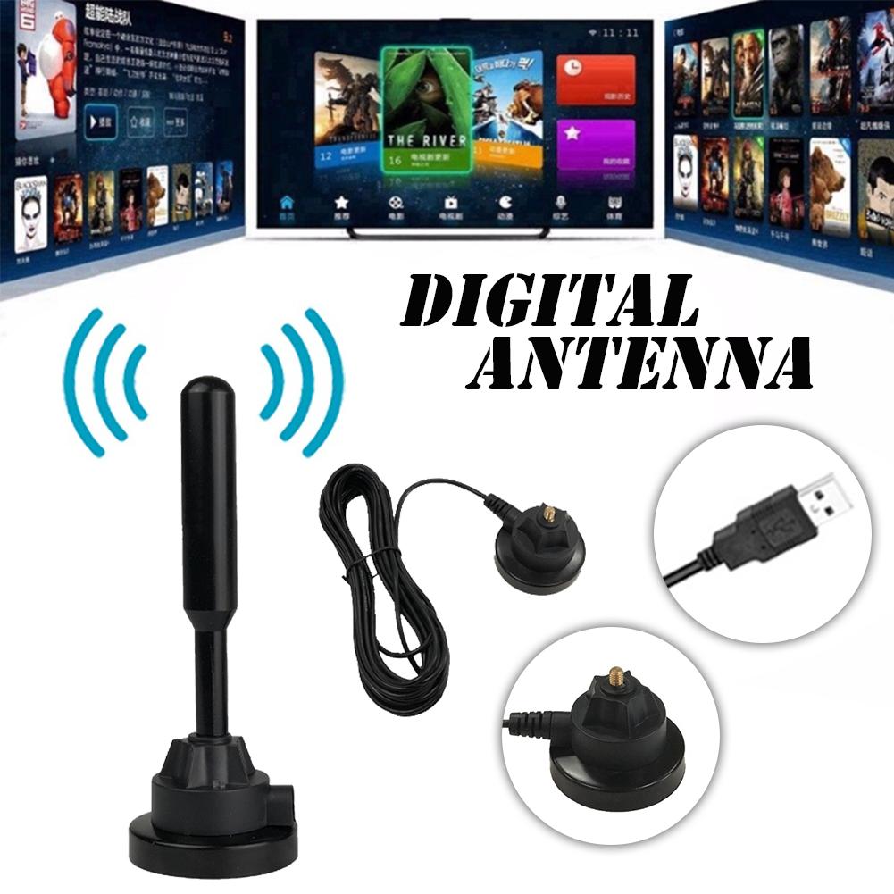 1080 P 120 Miles HDTV Antenna Booster Portatile Indoor Antenne Digitali Per TV HDTV DTMB HD ATSC Antenna TV ISDB Set-Top Box Antenna