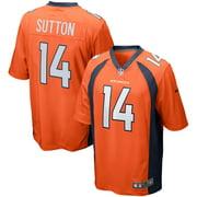 Courtland Sutton Denver Broncos Nike Game Player Jersey - Orange