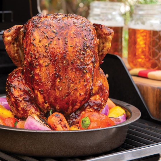 Nordic Ware Beer Can Chicken Roaster Aluminized Steel Base