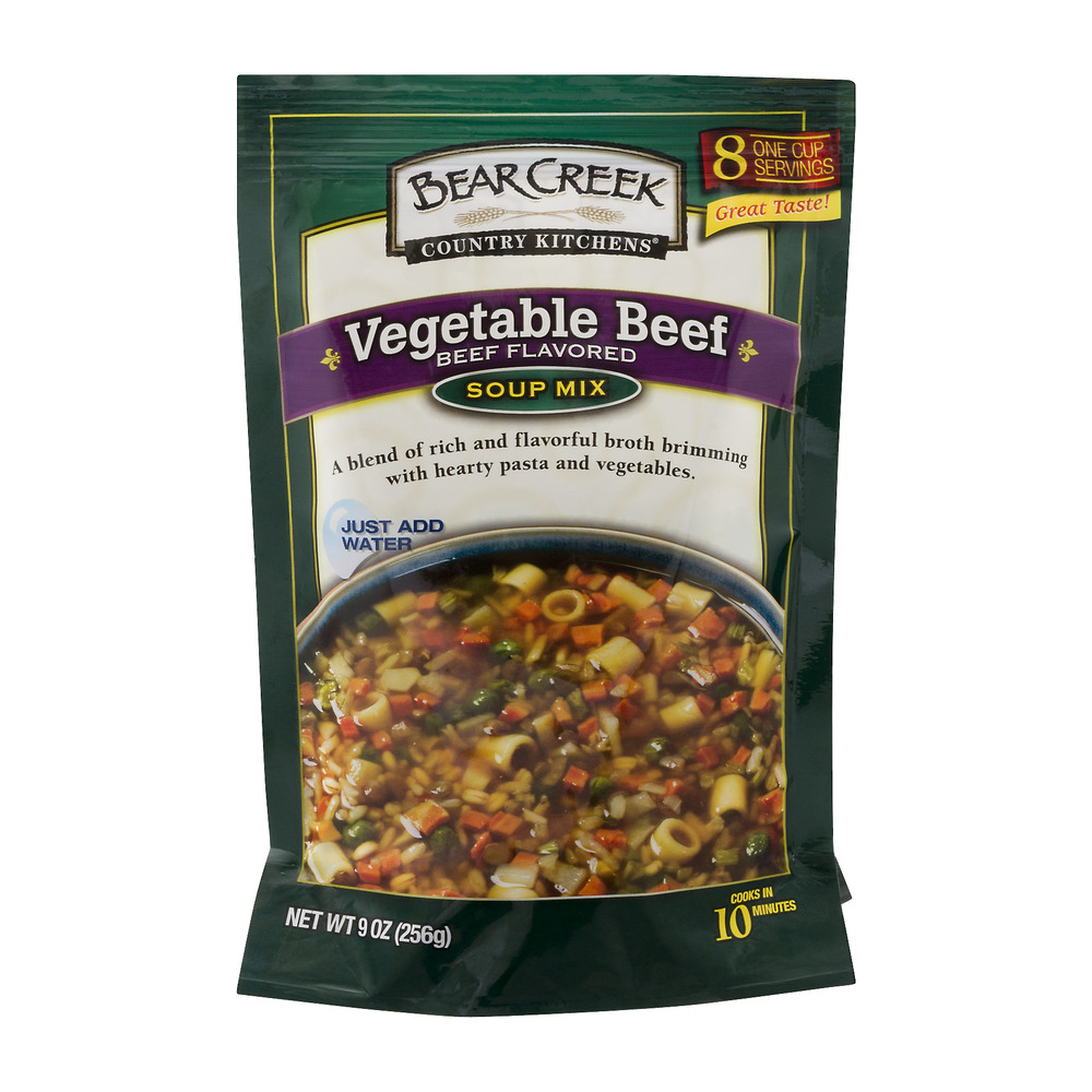 Bear Creek Country Kitchens Vegetable Beef Soup Mix, 9.0 OZ
