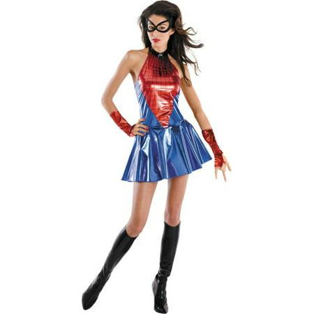 Morris costumes DG50257B Spider Girl Del Md 8-10