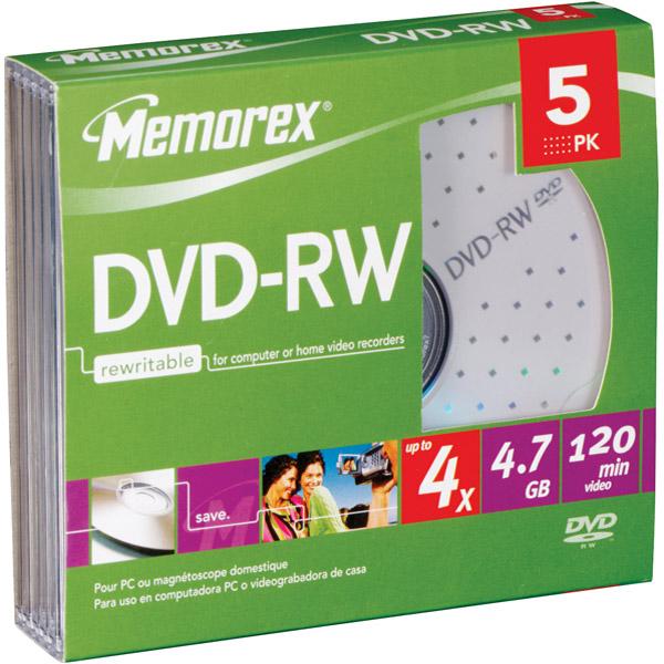 Memorex 4x Dvd-rw Drive - 4.7gb - 120mm Standard (32025745)