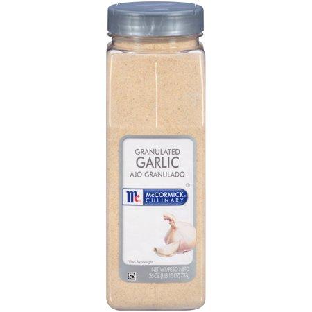 McCormick Culinary Granulated Garlic, 26 oz