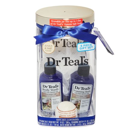 Dr Teal's Coconut Container Gift Set ()