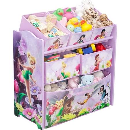 Disney - Tinker Bell Fairies Multi-Bin Toy Organizer - Disney - Tinker Bell Fairies Multi-Bin Toy Organizer - Walmart.com