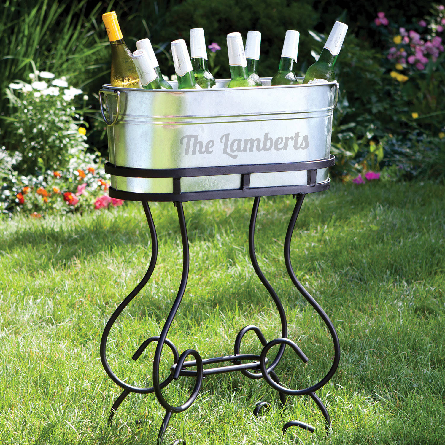 Picture of: Personalized Beverage Tub With Stand Walmart Com Walmart Com