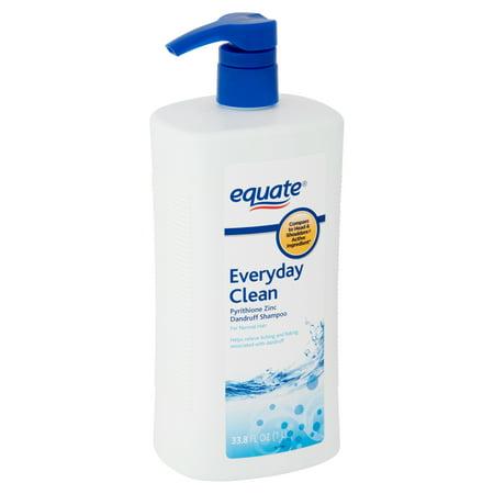 Zincon Medicated Dandruff Shampoo (Equate Everyday Clean Dandruff Shampoo, 33.8 fl oz )