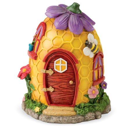 Miniature Fairy Village House w/ Intricate Woodland - Detailed Miniature