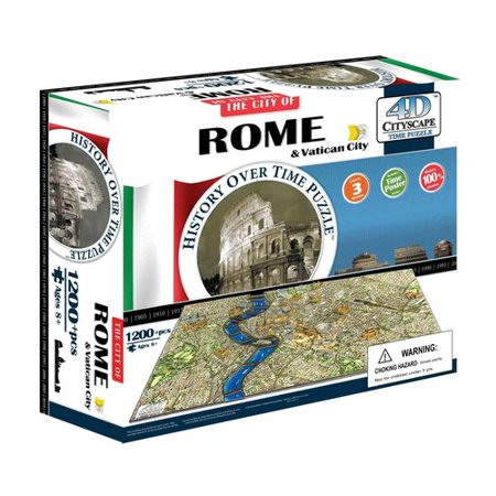 Image of 4D Cityscape Rome History Time: 1200+ Pieces
