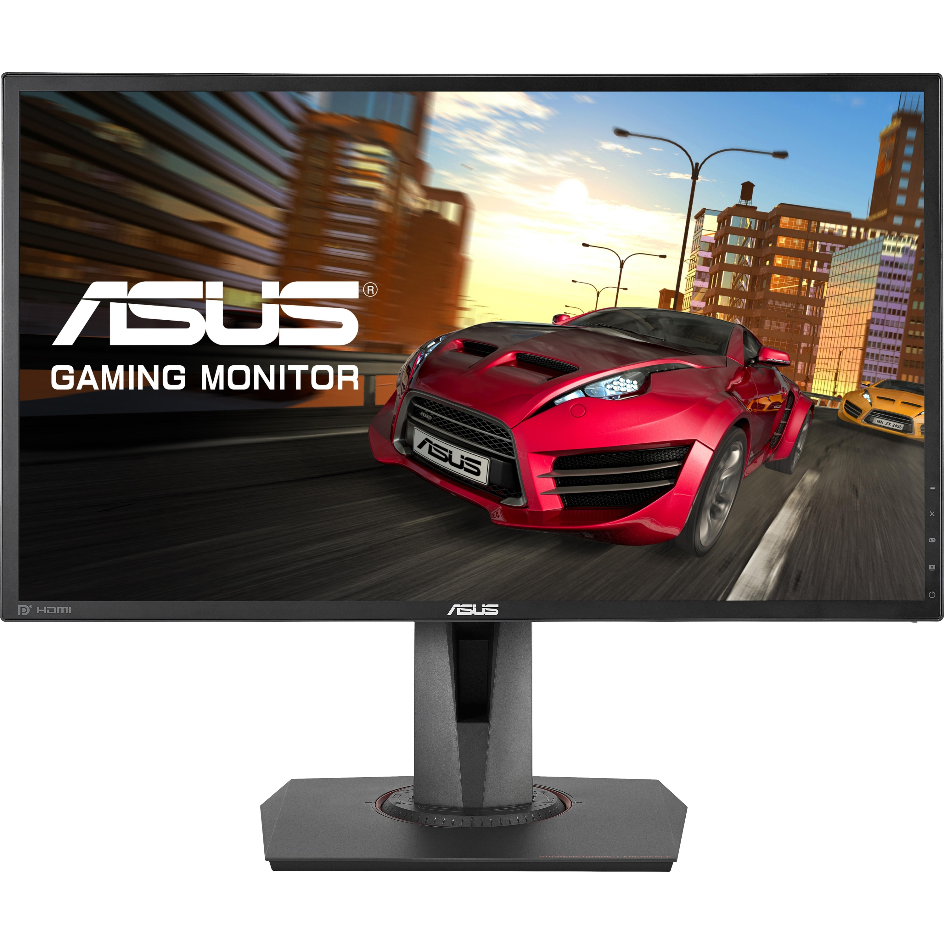 "Asus MG248Q 24"" 3D Ready LED LCD Monitor - 16:9 - 1 ms - 1920 x 1080 - 16.7 Million Colors - 350 Nit - 100,000,000:1 - Full HD - Speakers - DVI - HDMI - DisplayPort - Black"