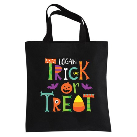 Personalized Creepy Crawlers Halloween Treat Bag - Trick or Treat](Halloween Trick Or Treat Bag Pattern)