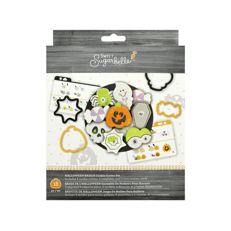 AMC Sugarbelle Cookie Cutter Set Halloween Basics](Mini Cookie Cutters Halloween)