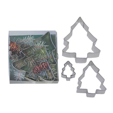 Christmas Tree Cookie Cutter Set - 1916B - National Cake Supply ()