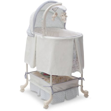Simmons Kids Gliding Bassinet, Paisley (Simmons Kid Bassinet)