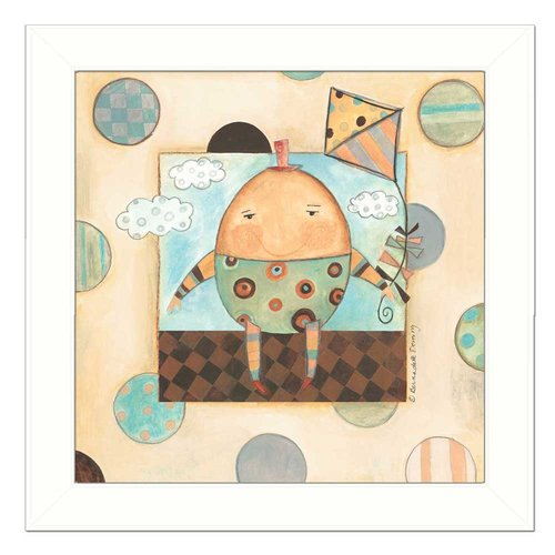 Trendy Decor 4U 'Humpty Dumpty' Framed Graphic Art Print