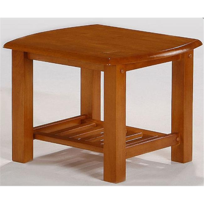 Merveilleux Night And Day Furniture TE COR HO Corona End Table In Honey Oak
