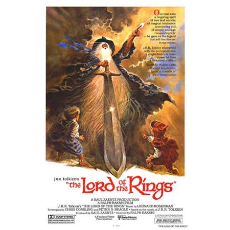 The Lord Of The Rings - Movie Poster / Print (1978 Animated Movie - Regular Style) (Size: 27