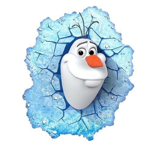 Disney 's Frozen Olaf 3D Deco Light