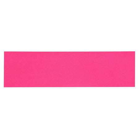 "PIMP Skateboard GRIPTAPE SHEET Neon Pink 9"" x 33"" Grip Tape"