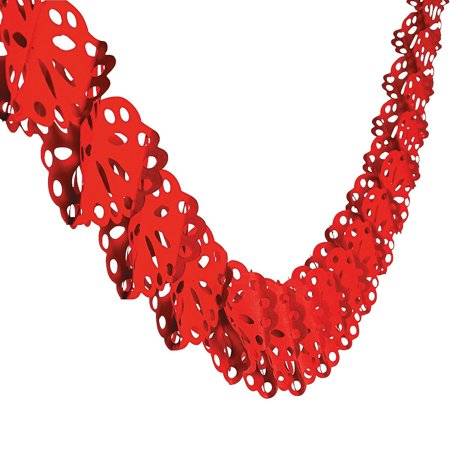 Red Heart Shaped Garland 9 Foot, 9 foot in length By Oriental Trading](Oriental Trading Golf)