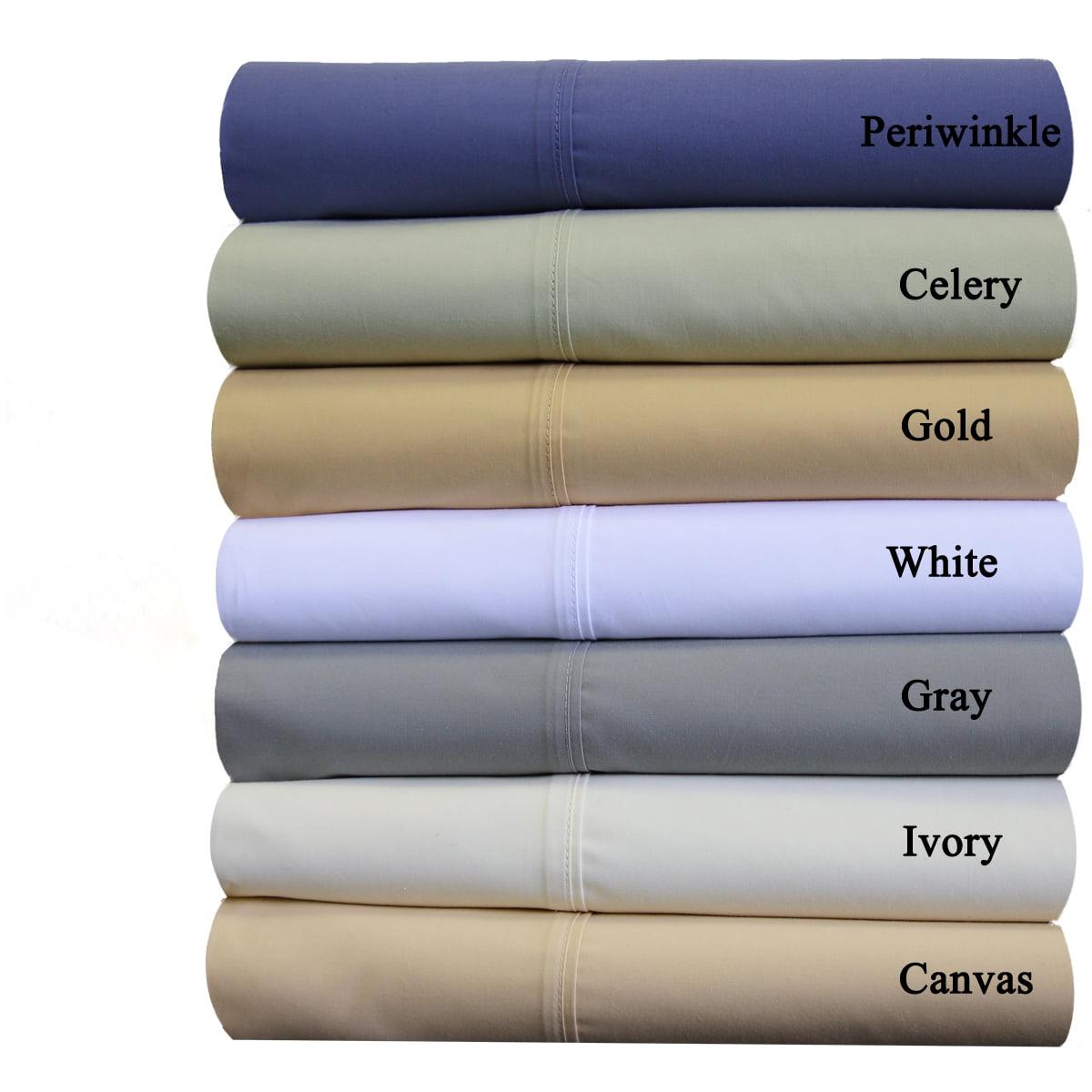 Split Adjustable California King Size Abripedic Percale, Breathable Crispy Soft Sheets