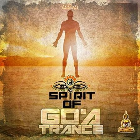 Spirit Of Goa Trance 1 / Various (CD) - Dj Trance Halloween