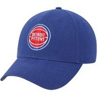 Men's Blue Detroit Pistons Mass Basic Adjustable Hat - OSFA
