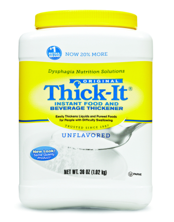 Food Thickener Thick-It Canister Unflavored ''36 oz, Pack of 2'' by KENT PRECISION FOODS