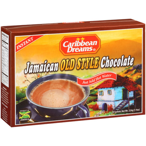 Caribbean Dreams Jamaican Old Style Chocolate, 8 count, 7.9 oz