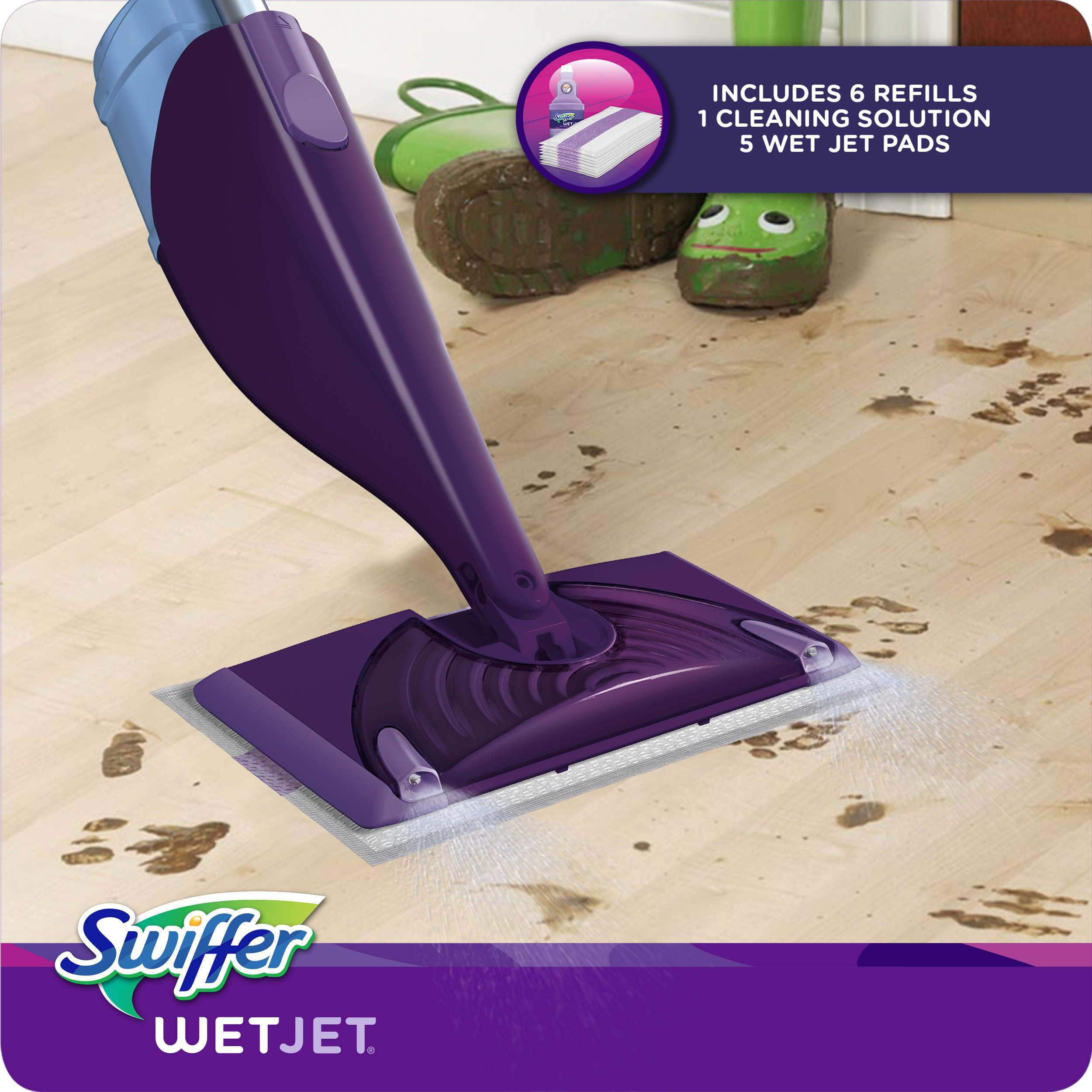 Swiffer wetjet wood floor cleaner - Swiffer Wetjet Wood Floor Cleaner 33