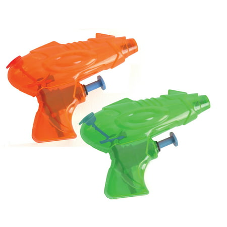 2 Pack Mini Water Guns Squirt Pistols Set For Outdoor Pool Fun - Water Squirting Flower