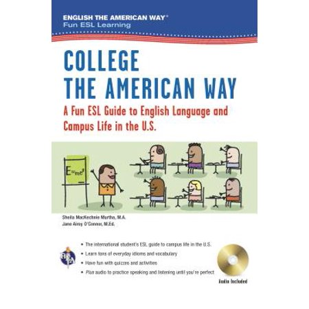 English the American Way: A Fun ESL Guide for College Students (Book + Audio) - Halloween For Esl Students