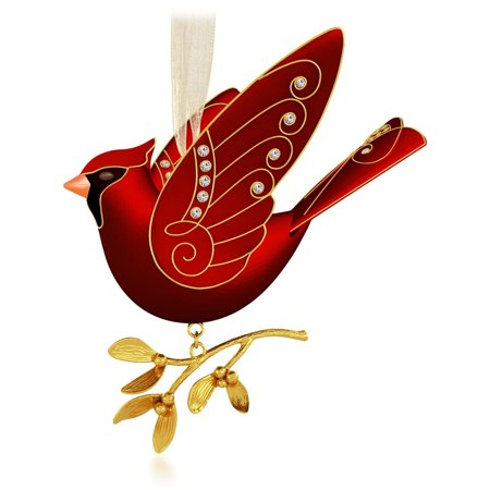Hallmark Ornament Ruby Red Cardinal - Beauty of Birds Premium Complement