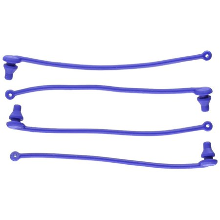 (5751 Blue Body Clip Retainers (set of 4), Use Traxxas stock and hop-up replacement parts to get the most out of you Traxxas RTR vehicles By Traxxas)