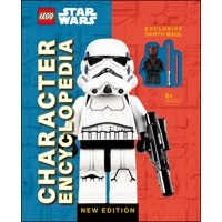 LEGO Star Wars Character Encyclopedia New Edition : with Exclusive Darth Maul Minifigure