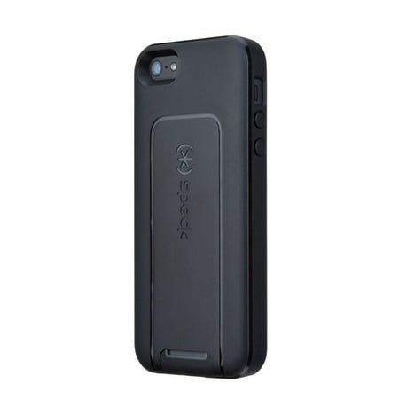 wholesale dealer eb140 a365e Speck SmartFlex View - Protective cover for cell phone - black, slate - for  Apple iPhone 5