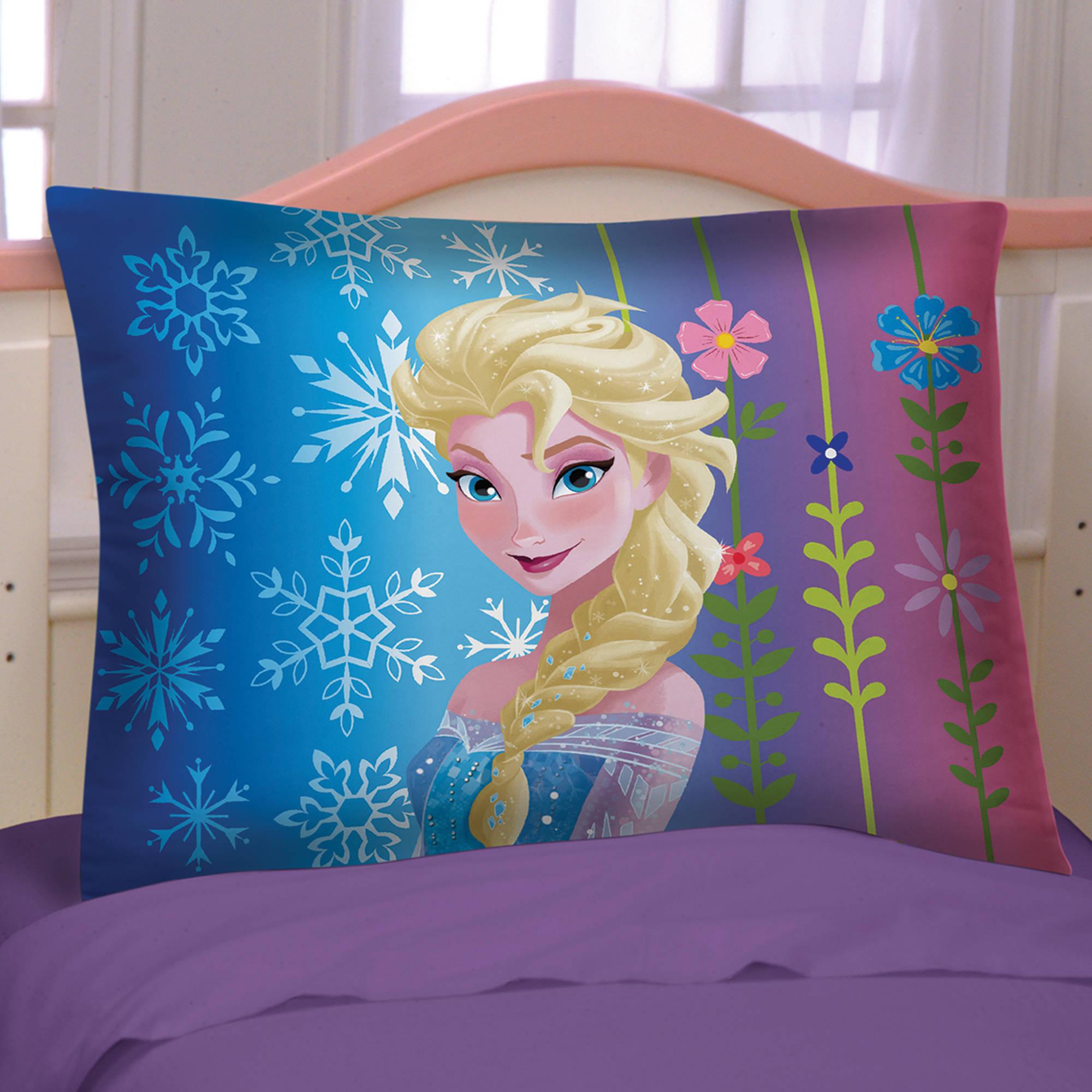 Disney's Frozen Purple Reversible Pillowcase