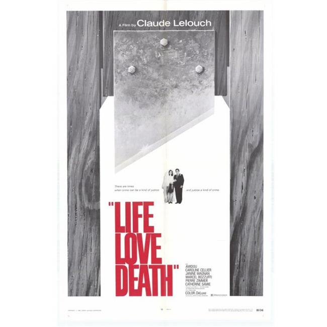 Posterazzi MOVGH0296 Life Love Death Movie Poster - 27 x 40 in. - image 1 of 1