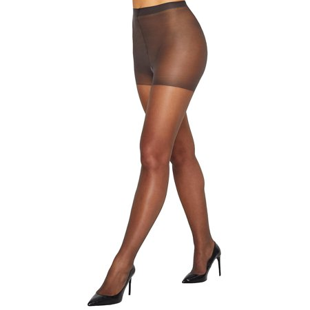 Hanes Womens Silk Reflections Sheer Toe Control Top Pantyhose Style-717 Sheer Leg Control Top Pantyhose