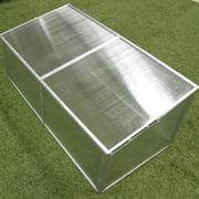 Zenport 3.5 Ft. W x 1.5 Ft. D Cold-Frame Greenhouse